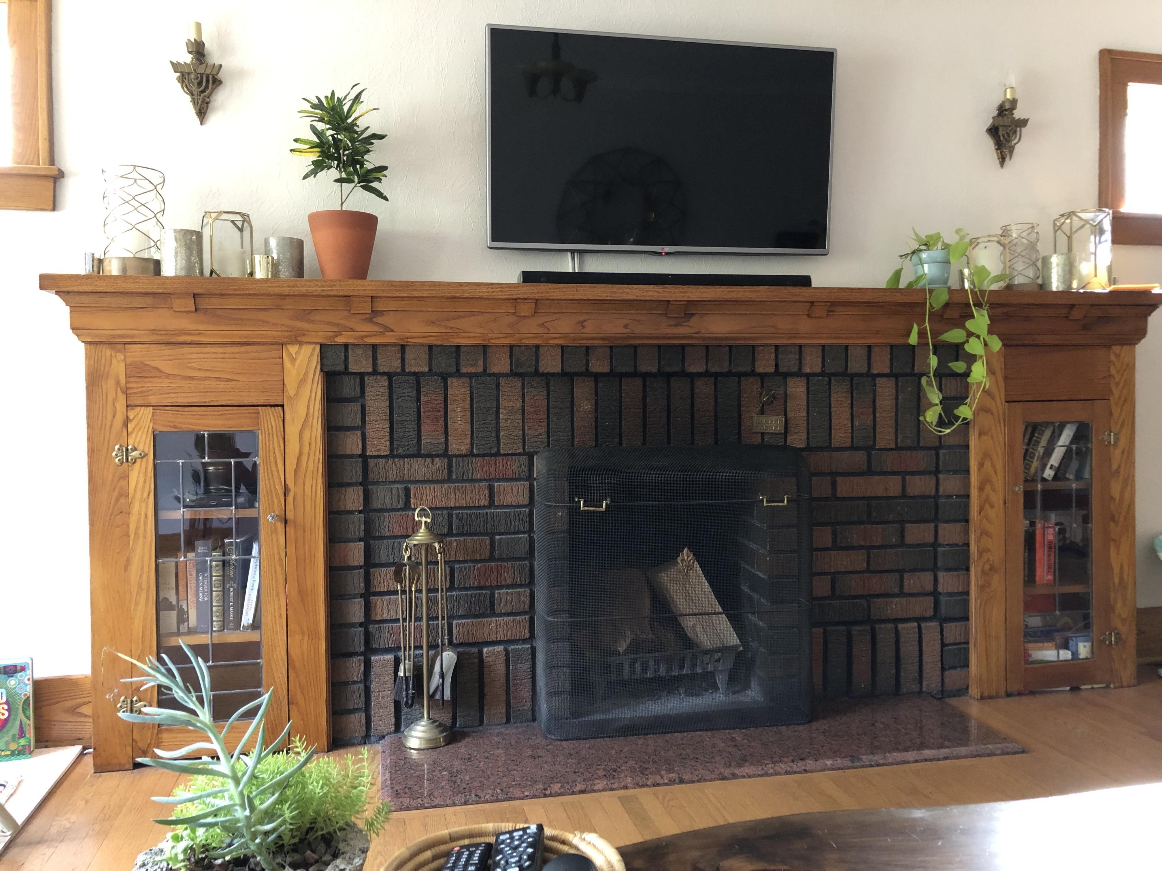 House Smells Like Smoke From Fireplace Fresh Looking for Advice On How to Preserve My Fireplace Size but
