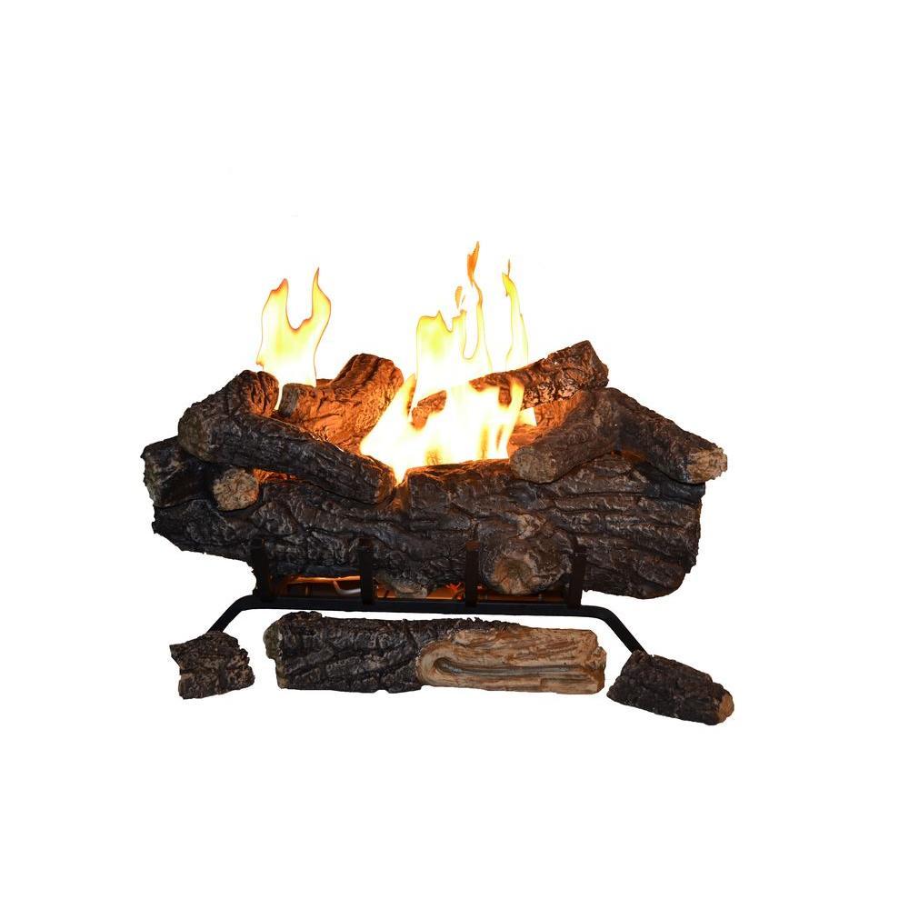 emberglow vented gas fireplace logs scvfr24l 64 1000