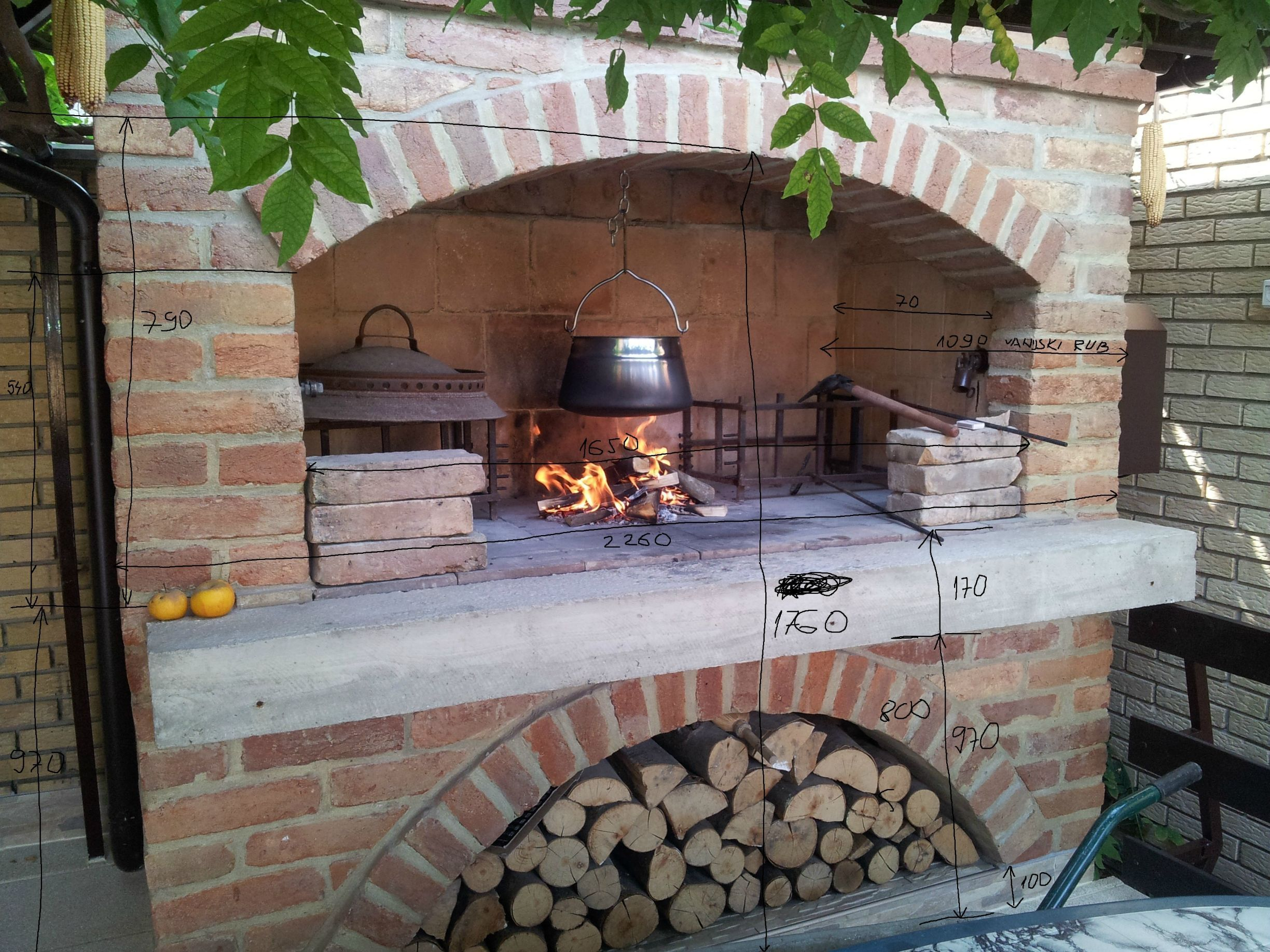 How to Build An Outdoor Brick Fireplace Awesome Pin On Kamini