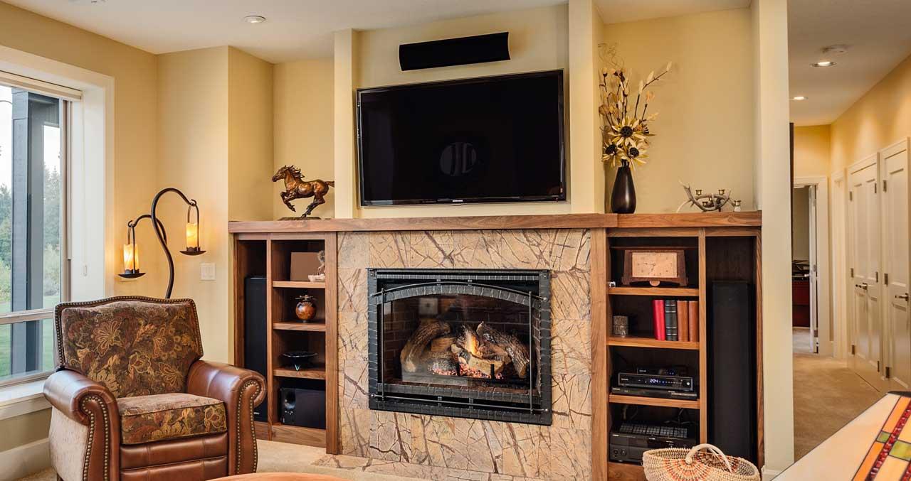 advanced fireplace tv mounting 1