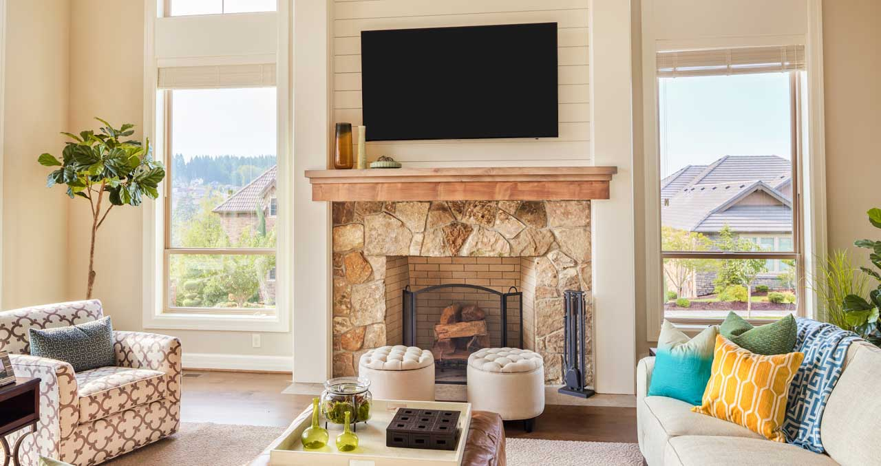 tv over fireplace 3