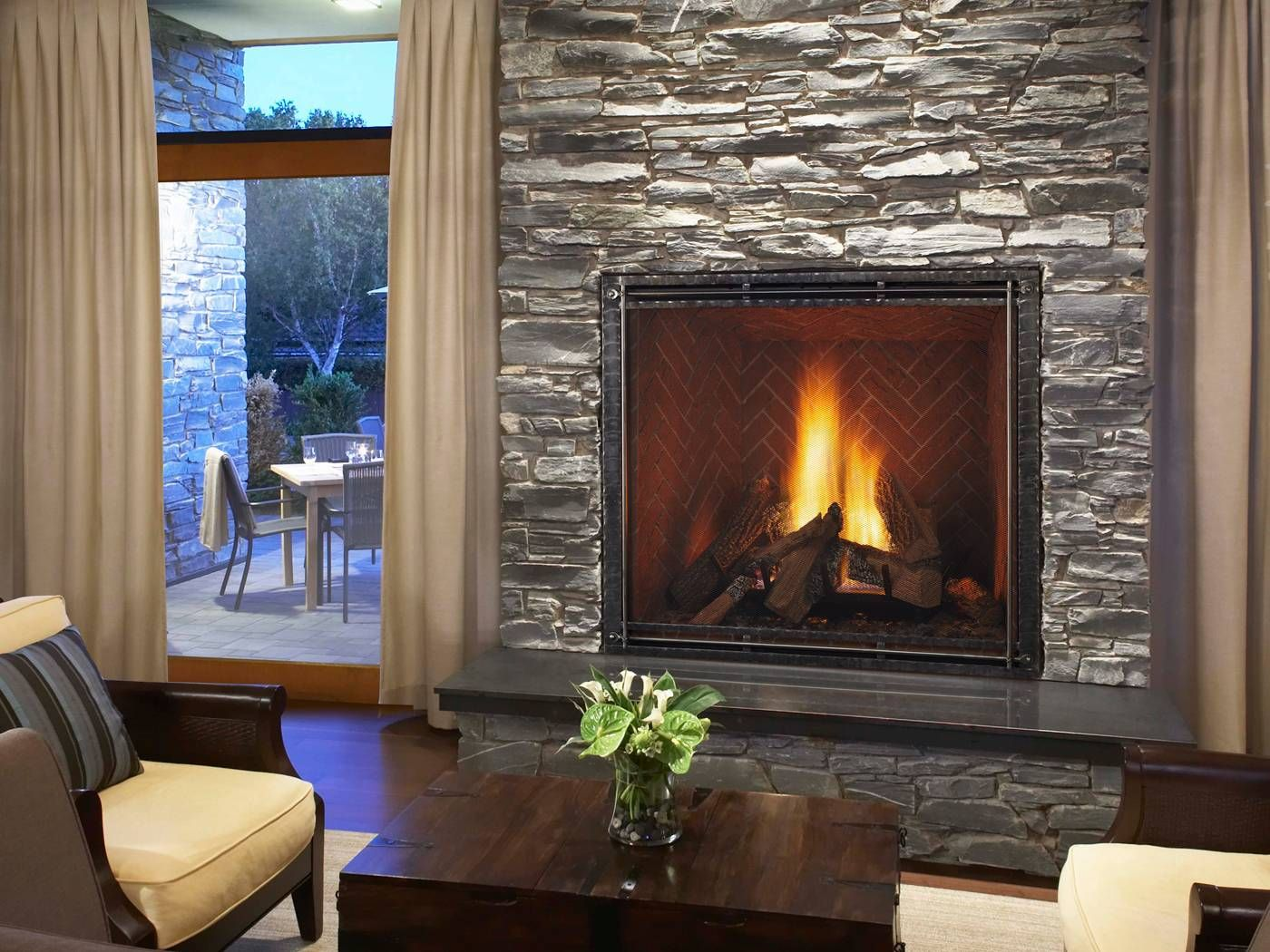 How to Heat Your House with A Fireplace Fresh True Fireplace by Heat N Glo Huge Fire Box for Maximum