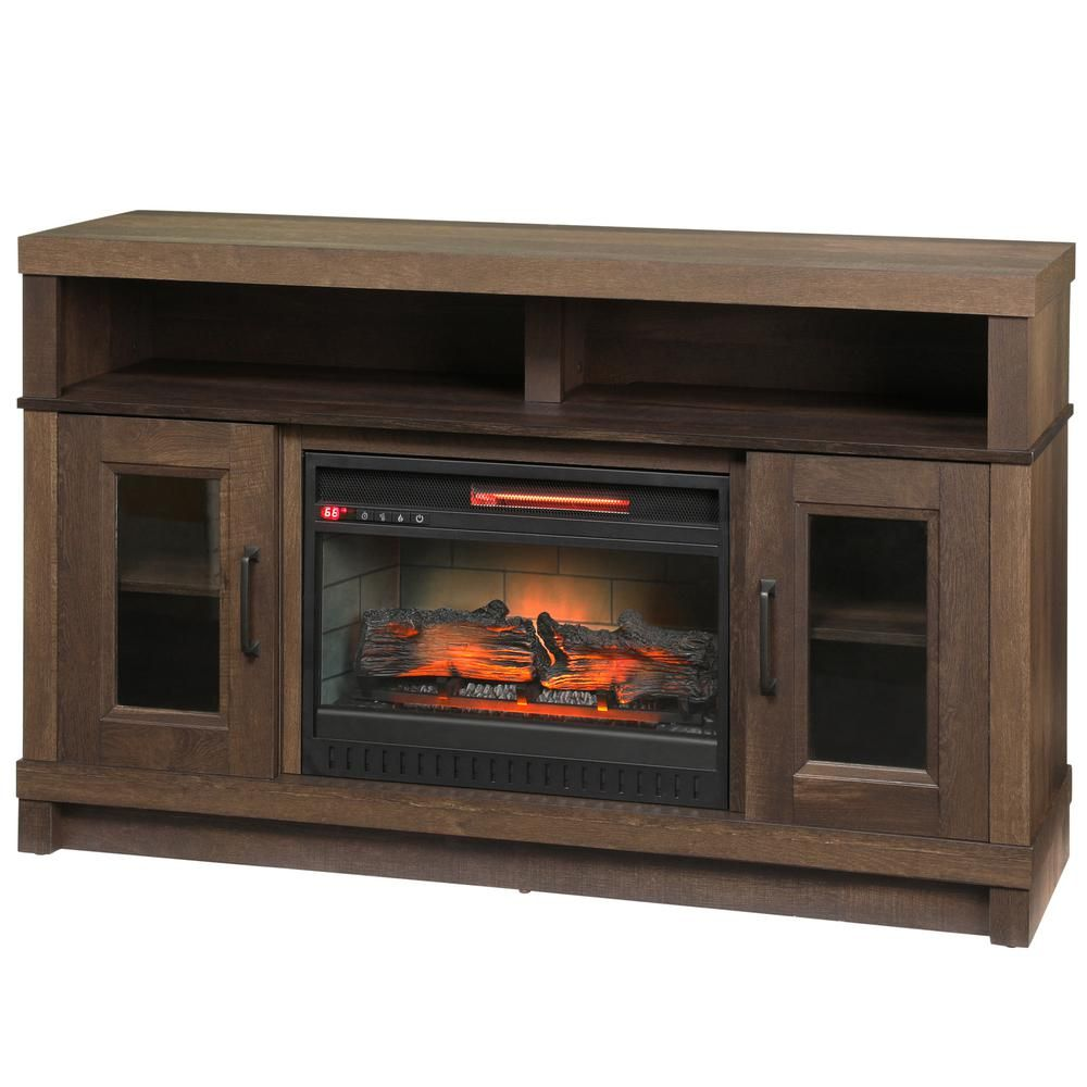 How to Install Electric Fireplace Awesome Home Decorators Collection ashmont 54in Media Console