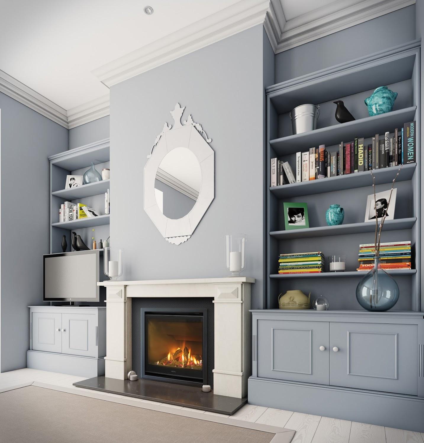 Escea AF700 gas fireplace 1