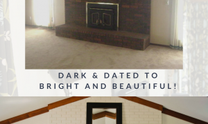 14 Inspirational How to Remove Paint From Brick Fireplace