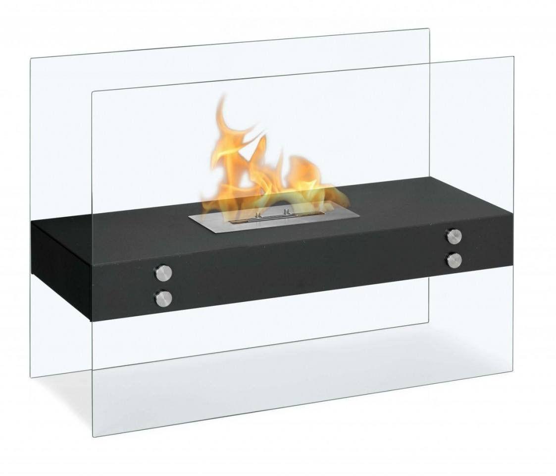 Ignis Fireplace Unique Vitrum H Freestanding Bio Ethanol Fireplace