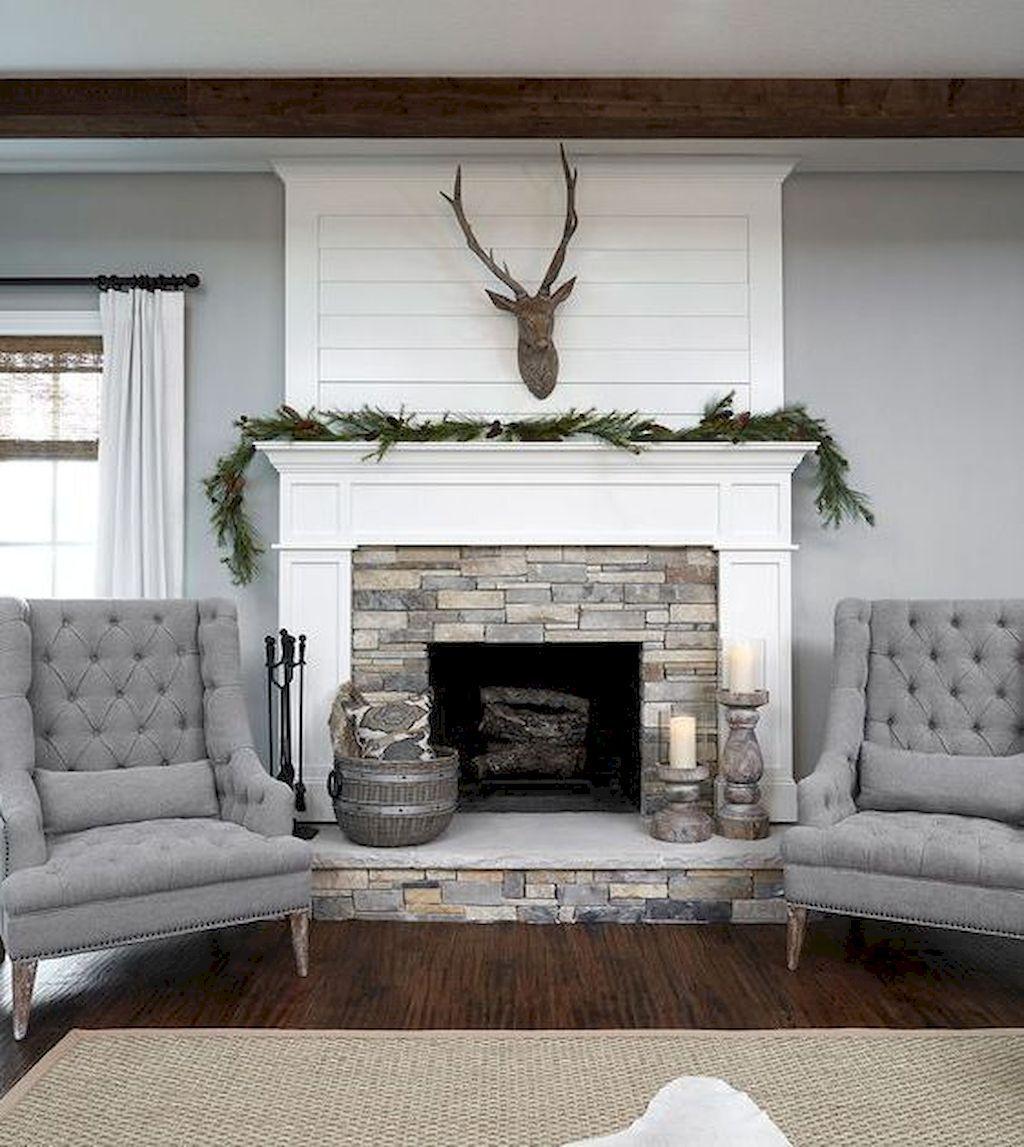 Indoor Fireplace Ideas Inspirational 60 Scandinavian Fireplace Ideas for Your Living Room 55