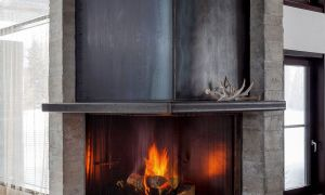 10 Luxury Industrial Fireplace