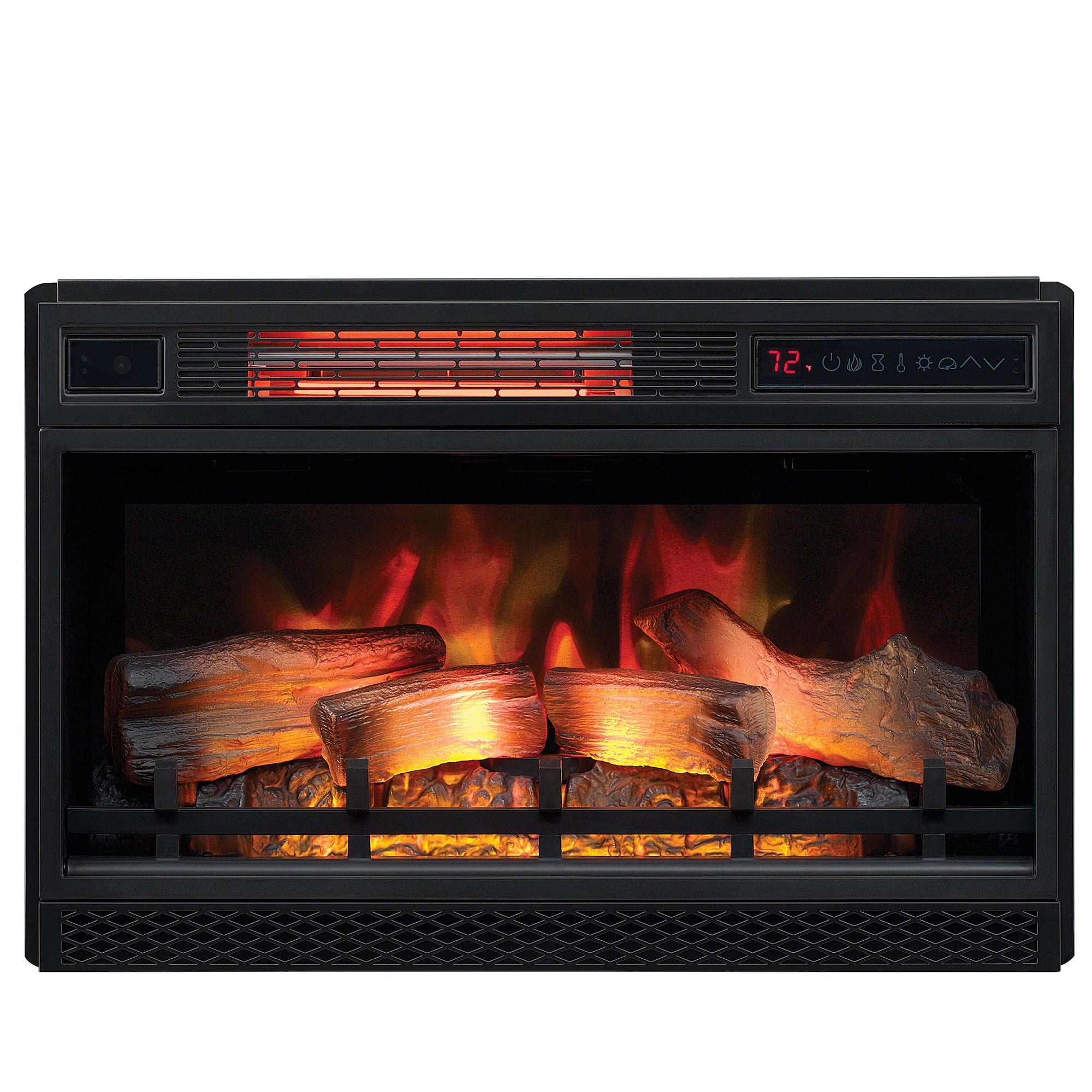 "Infrared Electric Fireplace Insert Awesome Electric Fireplace Classic Flame Insert 26"" Led 3d Infrared"