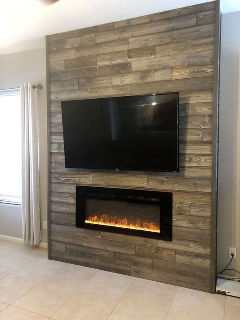 Inset Fireplace Fresh 46 Rustic Tv Wall Design Ideas for Home