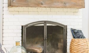 21 Awesome Installing A Mantel On A Brick Fireplace