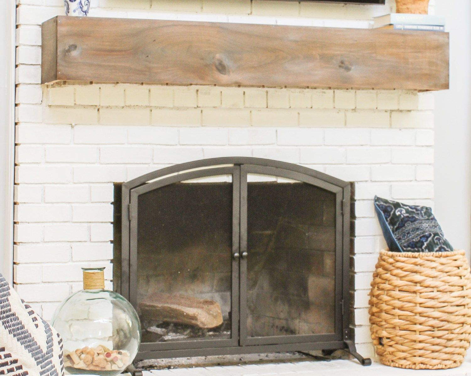 Installing A Mantel On A Brick Fireplace Best Of How to Mount A Tv Over A Brick Fireplace and Hide the Wires