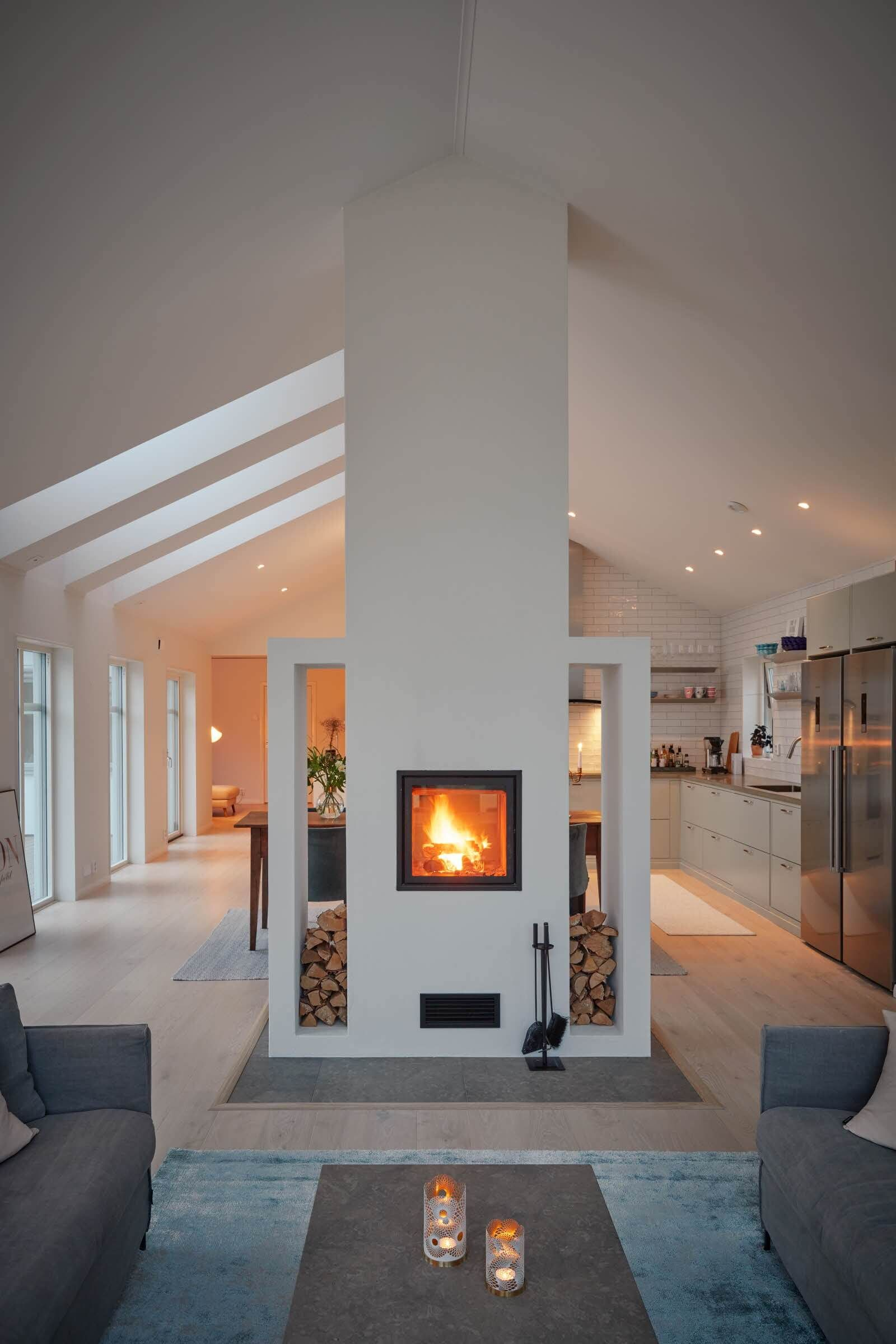 Interior Fireplace Unique 16 Gorgeous Double Sided Fireplace Design Ideas Take A Look