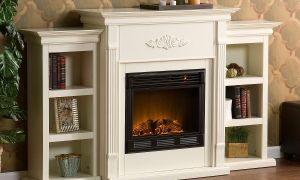 22 Elegant Ivory Electric Fireplace
