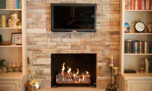 27 Luxury Ledgestone Fireplace