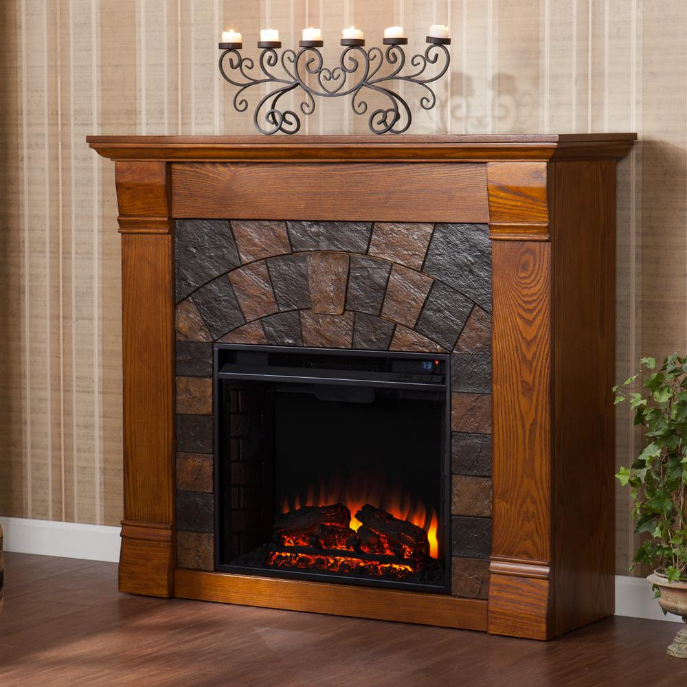 Mahogany Electric Fireplace Awesome Sei Jamestown 45 5 In W Electric Fireplace In Salem Antique