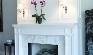20 Elegant Marble Fireplace Surround Ideas