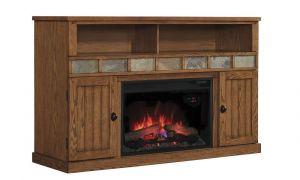 22 Luxury Media Mantel Electric Fireplace