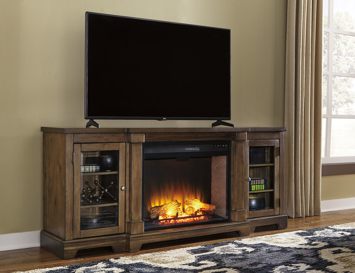 entertainment center with fireplace american furniture and hutch at lowes