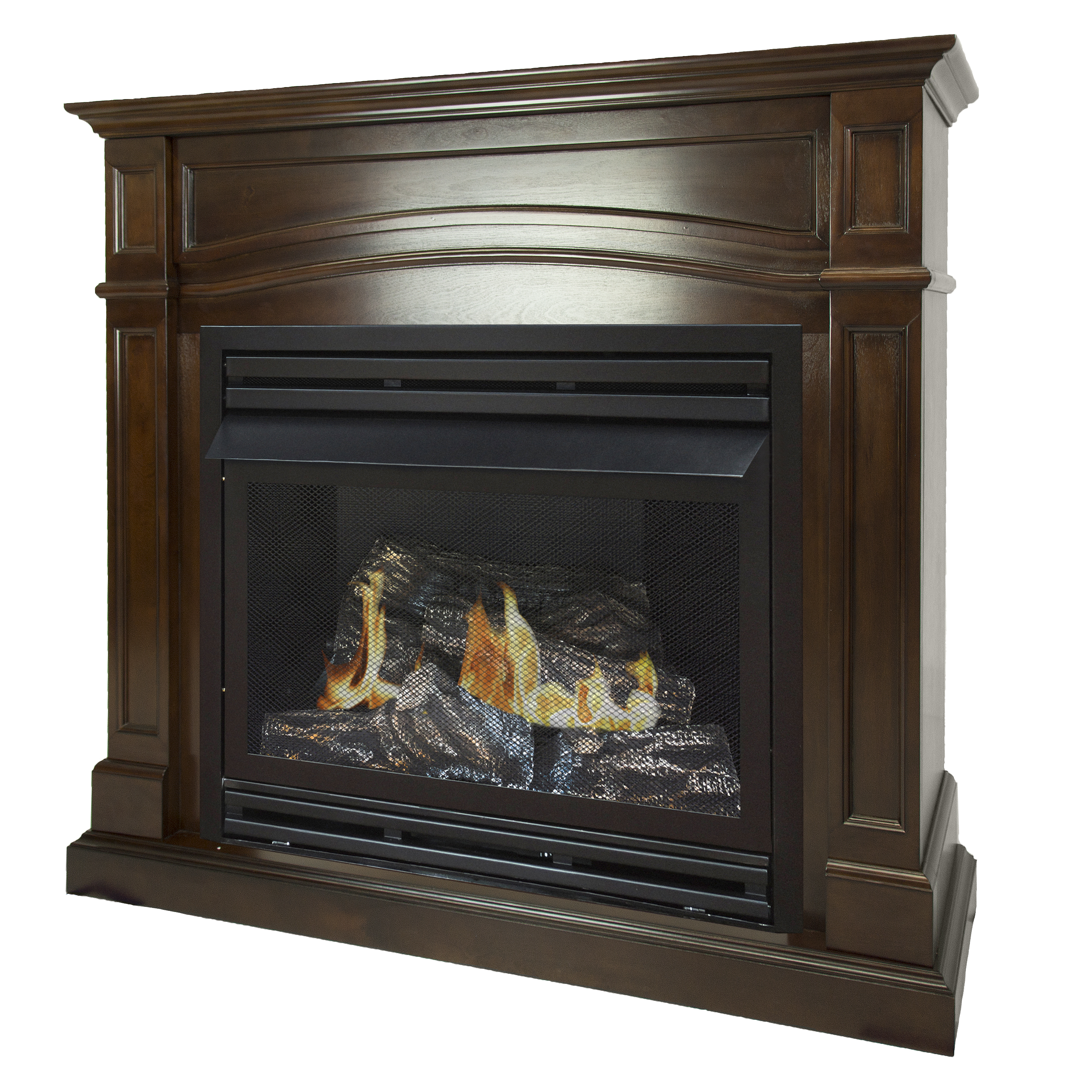 Mendota Fireplace Price List Inspirational Pleasant Hearth 46 In Natural Gas Full Size Cherry Vent Free Fireplace System 32 000 Btu