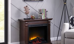 17 Elegant Mid Century Electric Fireplace