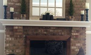 16 Unique Mirror Above Fireplace