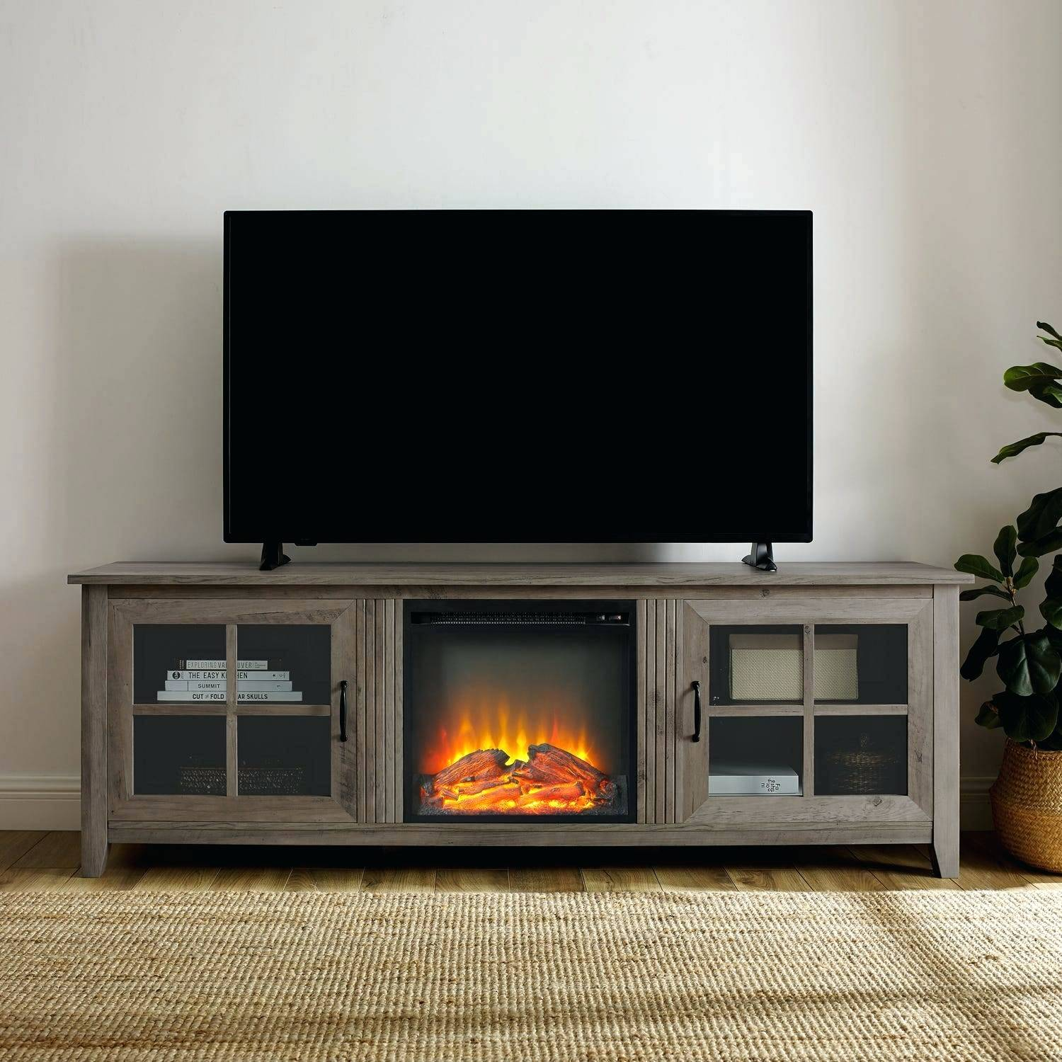 70 fireplace tv stand walmart fireplace tv stand 70 inch edenfield 70 in freestanding infrared electric fireplace tv stand in espresso
