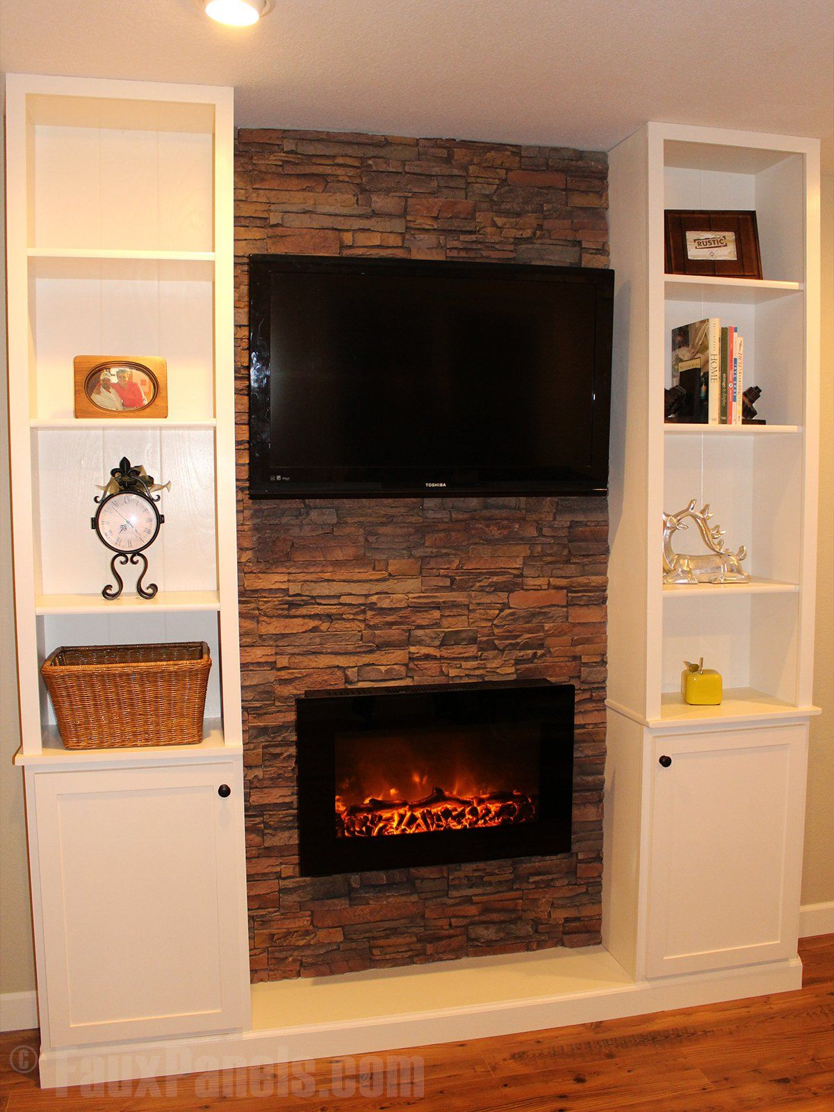 Mobile Fireplace Elegant Faux Fireplace Ideas Can Also Include Your Entertainment
