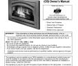 Montigo Fireplace Parts Elegant 35 Custom Builder Cb Owner S Manual
