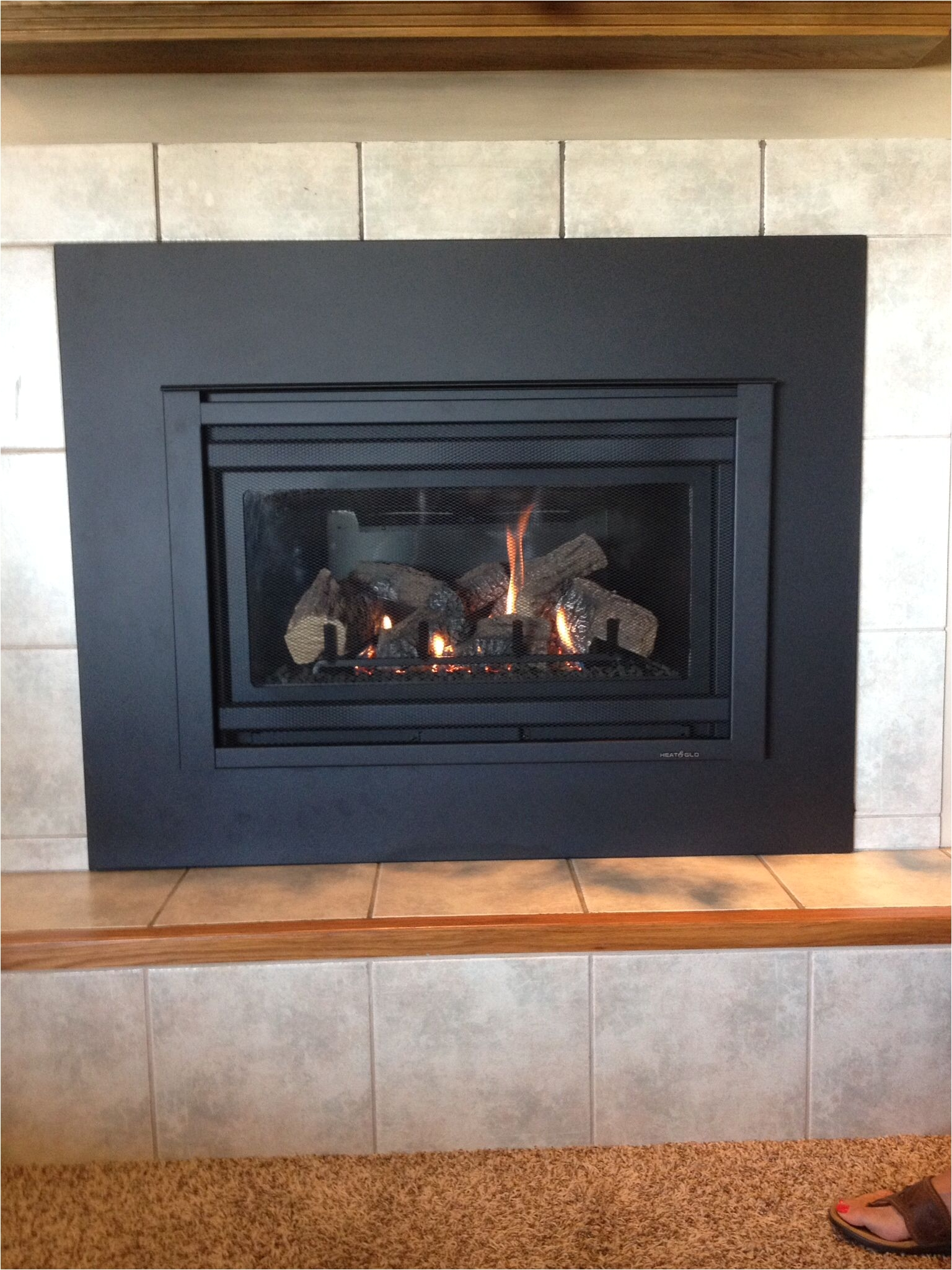 propane fireplace insert repair heat n glo supreme i 30 gas insert with custom surround panel of propane fireplace insert repair