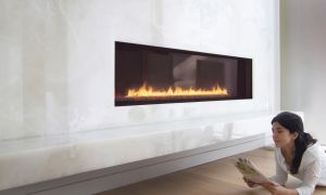 24 Beautiful Narrow Gas Fireplace