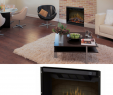 """Nu Flame Fireplace Inspirational Dimplex 32"""" Multi Fire Built In Electric Firebox Ul Listed"""