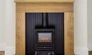 30 Elegant Oak Fireplace