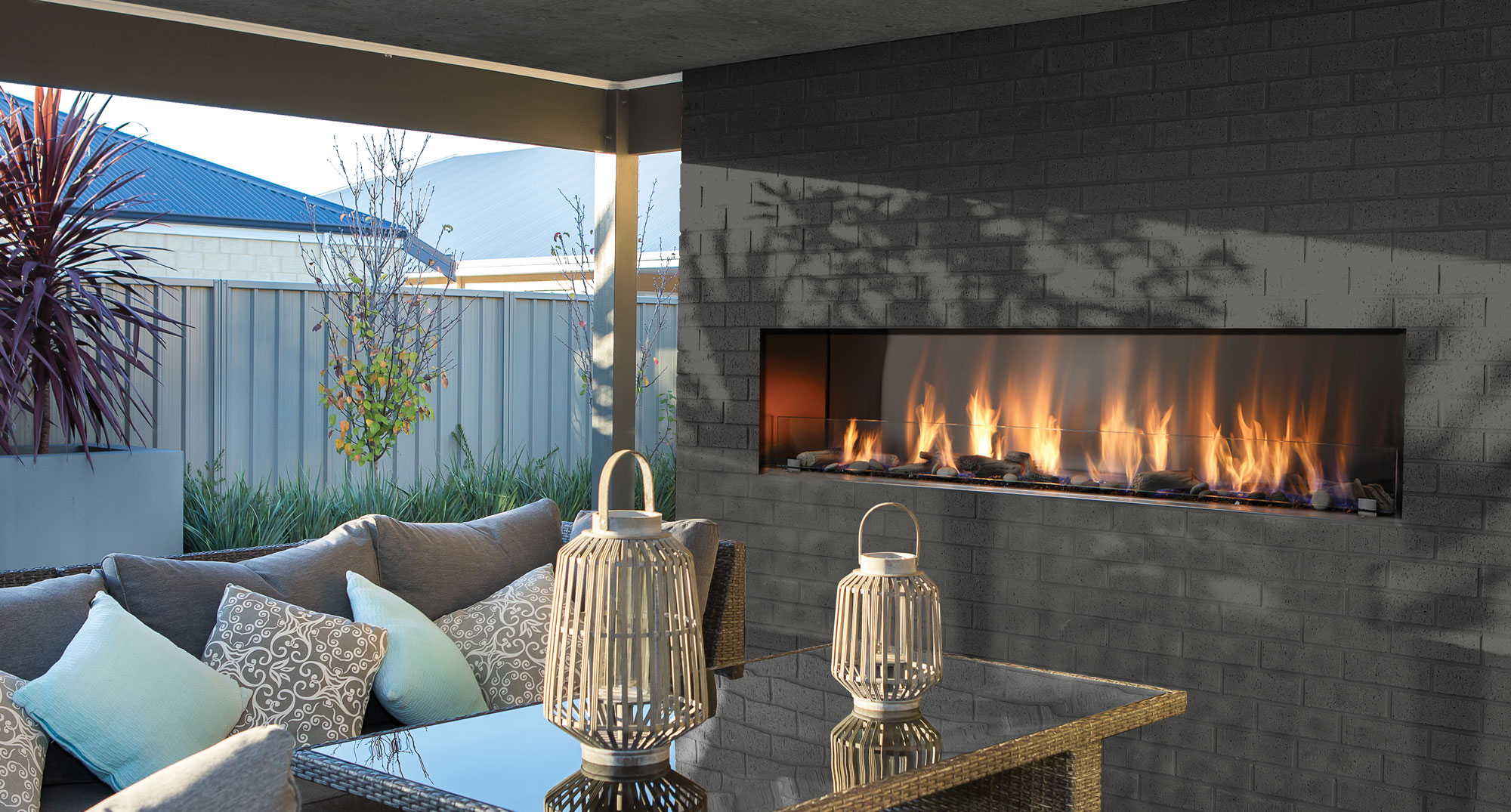 Okells Fireplace Elegant Outdoor Linear Fireplace Charming Fireplace