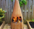 Outdoor Fireplace with Chimney Elegant Outdoor Fireplace Exhaust Nozzle