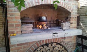 26 Unique Outdoor Fireplace with Pizza Oven