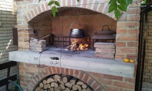 17 Elegant Outside Brick Fireplace