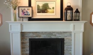 26 Lovely Painted Fireplace Surround
