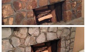 16 Unique Painting Stone Fireplace Ideas