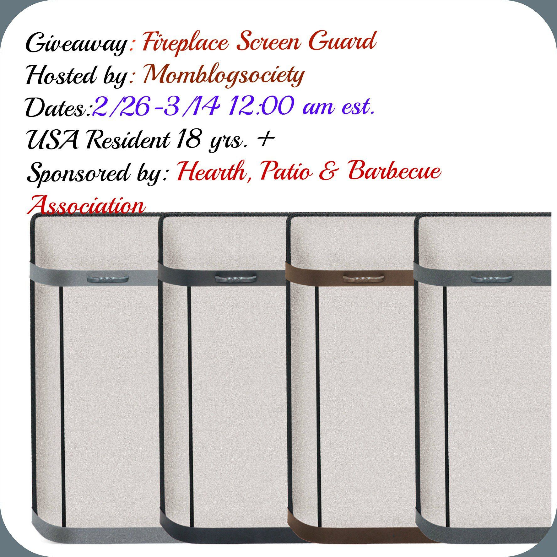 Pilgrim Fireplace Screens Awesome Fireplace Screen Guard Giveaway Usa Only Ends 3 14