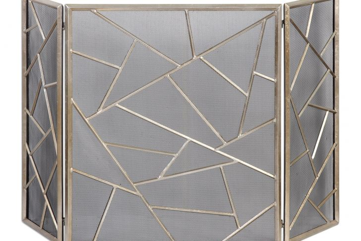 Pilgrim Fireplace Screens Awesome Uttermost Armino Modern Fireplace Screen Decorative