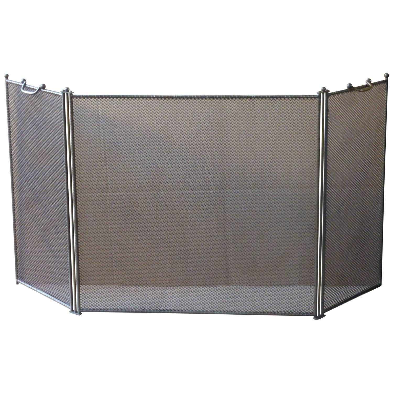 Pilgrim Fireplace Screens Beautiful 2 Door Steel Flat Guard Fireplace Fire Screen Black Plow