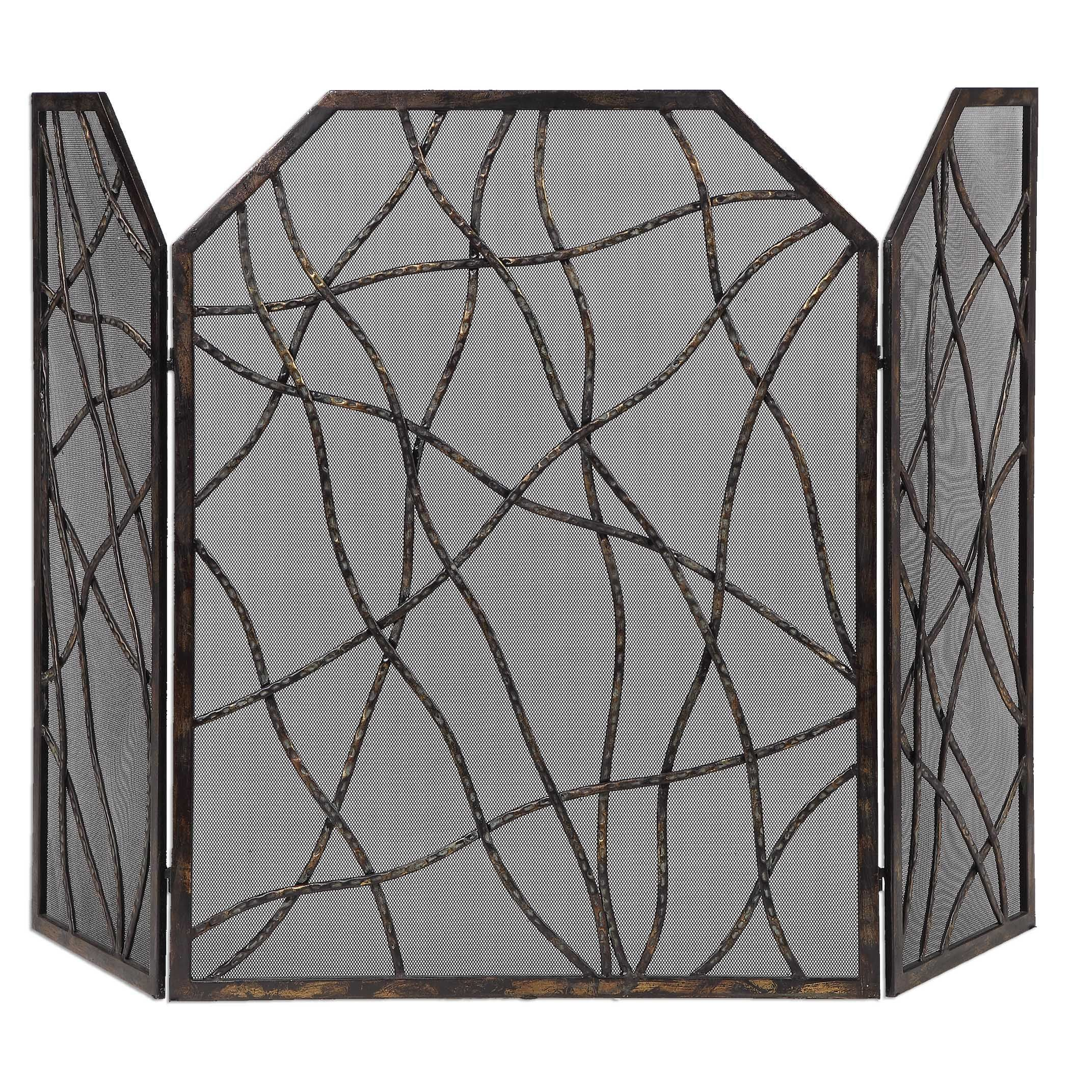 Pilgrim Fireplace Screens Elegant Uttermost Dorigrass Fireplace Screen Want It