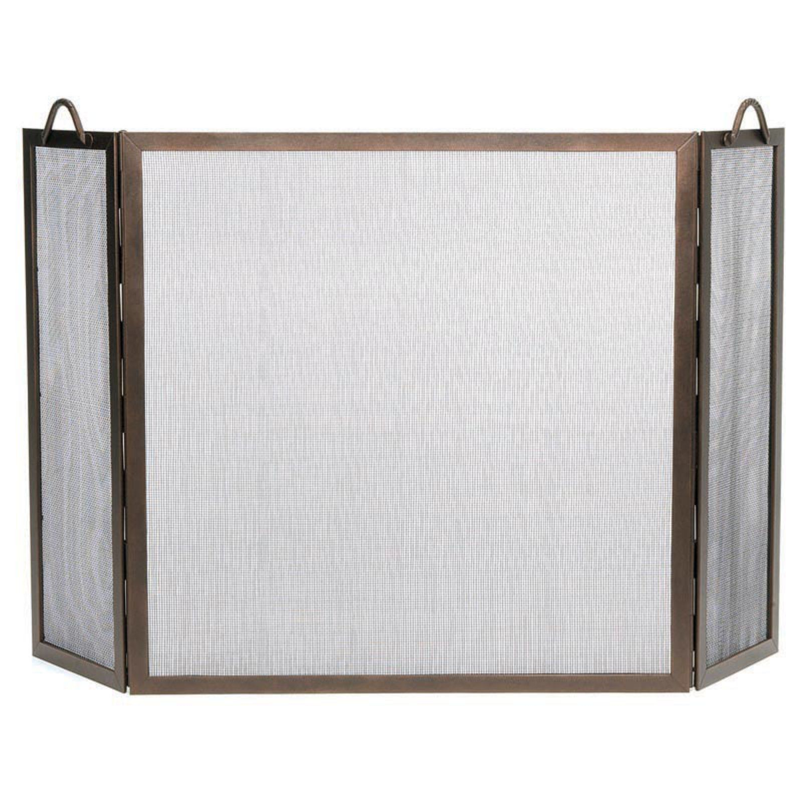 Pilgrim Fireplace Screens Fresh 2 Door Steel Flat Guard Fireplace Fire Screen Black Plow