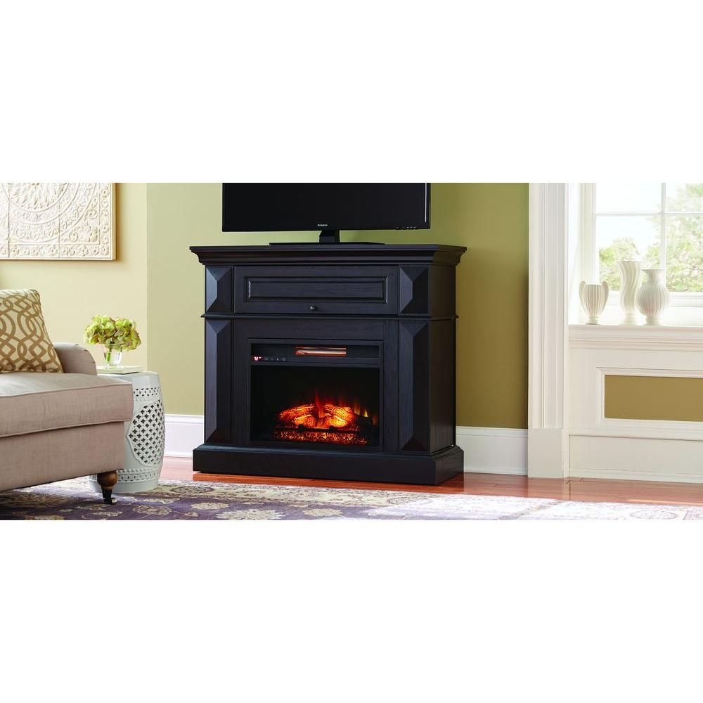 Portable Fireplace with Mantel Lovely Coleridge 42 In Mantel Console Infrared Electric Fireplace