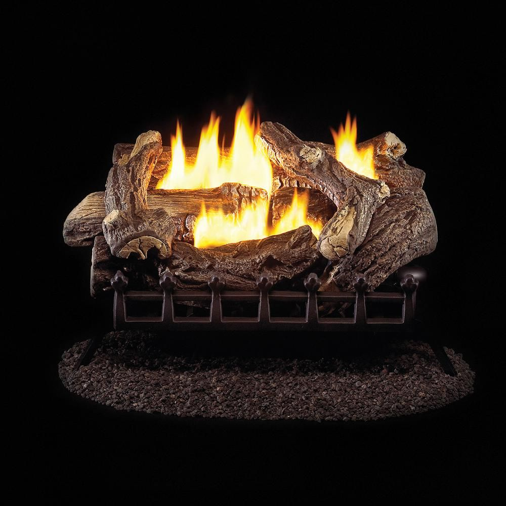 Propane Fireplace Logs Ventless Beautiful Pro 24 In Ventless Liquid Propane Gas Log Set with