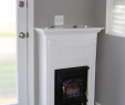 Propane Fireplace with Mantel Elegant Pin by Linda Wallace On Decorating Country Cottage In