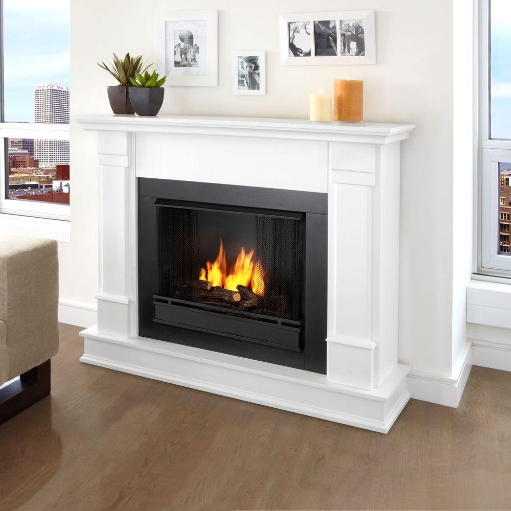 white real flame gel fireplaces g8600 w 64 1000