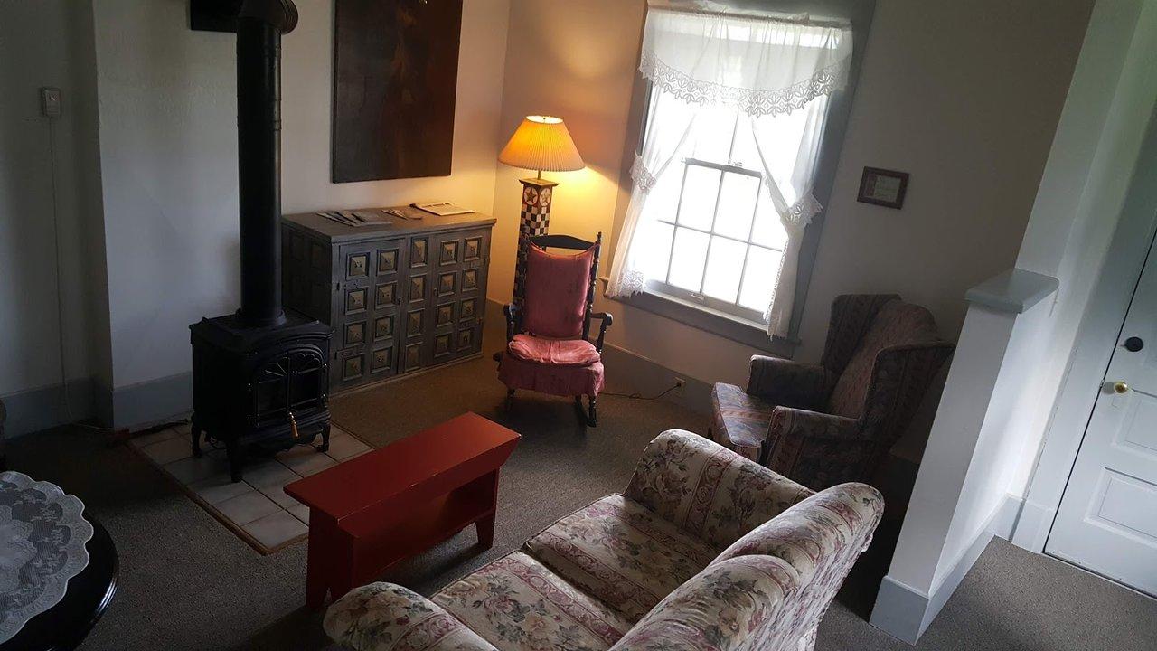 living room gas stove