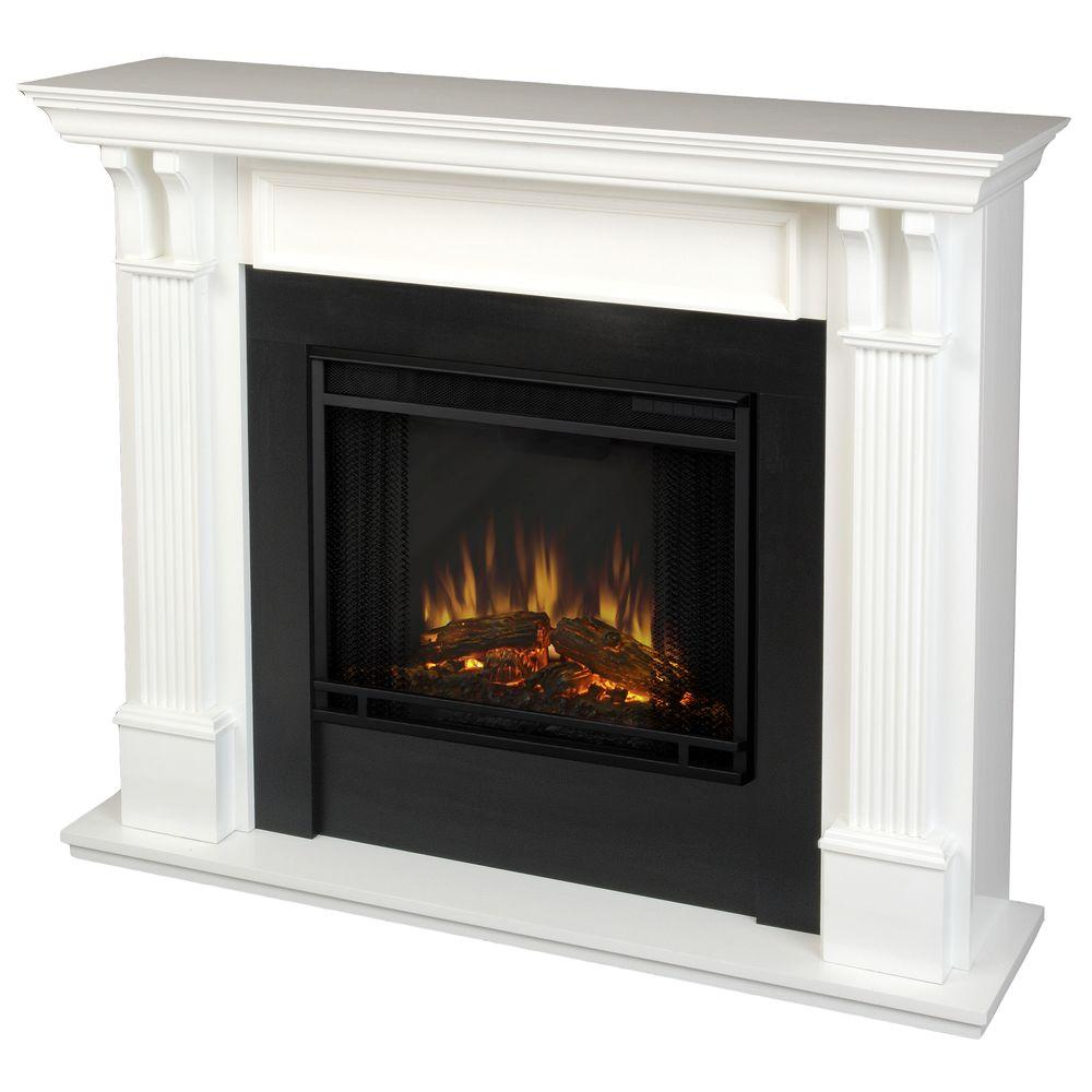 white real flame freestanding electric fireplaces 7100e w 64 1000